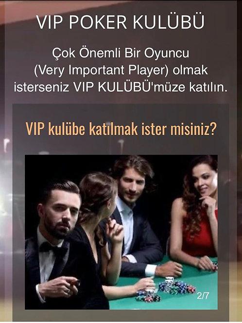 VIP alanına erişim