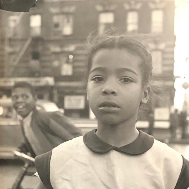 Girl, NYC 1951