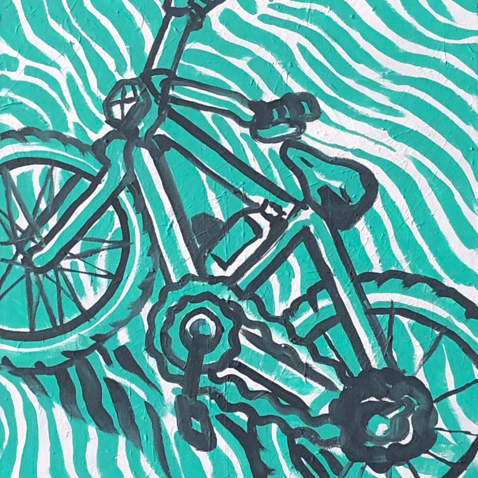 Water Bottle with Bike