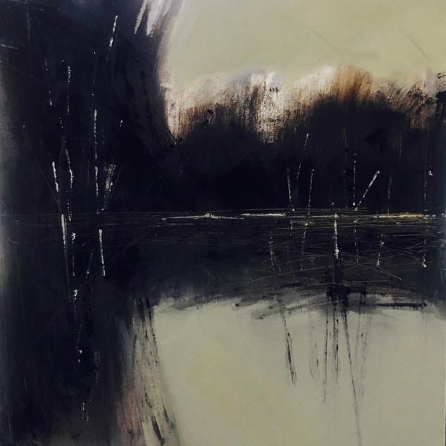 El Lago al Amanecer