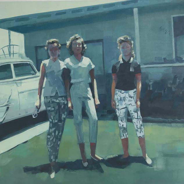 Three Friends 1958
