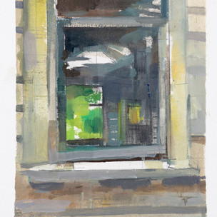 Yellow House Study #5