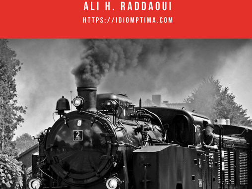 Memoirs of a locomotive - A short story