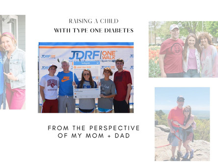 Raising a child with T1D