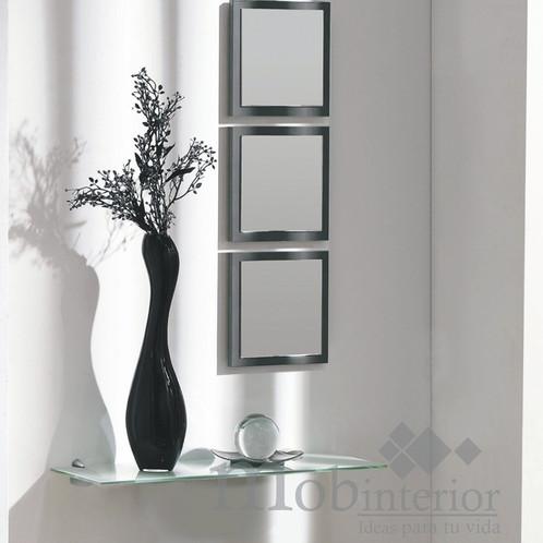 Recibidores de lujo recibidor with recibidores de lujo for Espejos decorativos conforama
