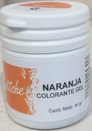 COLOR GEL NARANJO