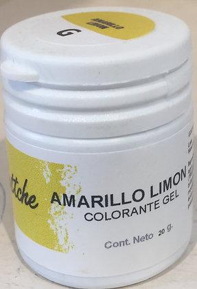 COLOR GEL AMARILLO LIMÓN