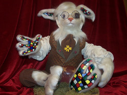 Patchwork Easter Bunny