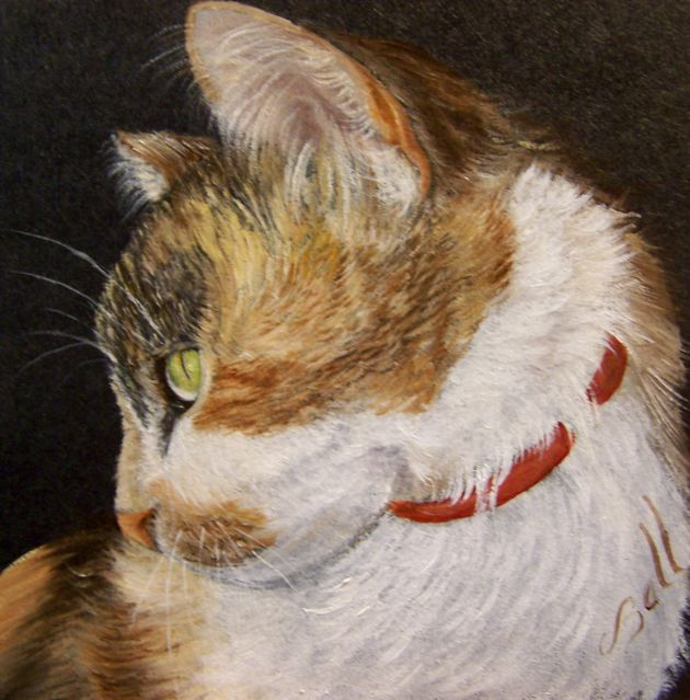 Tortie Painting