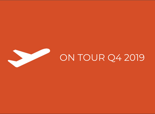 on tour in Q4 2019
