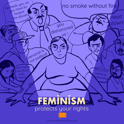 Feminism protects your human rights!