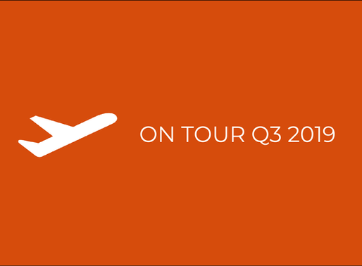 on tour in Q3 2019