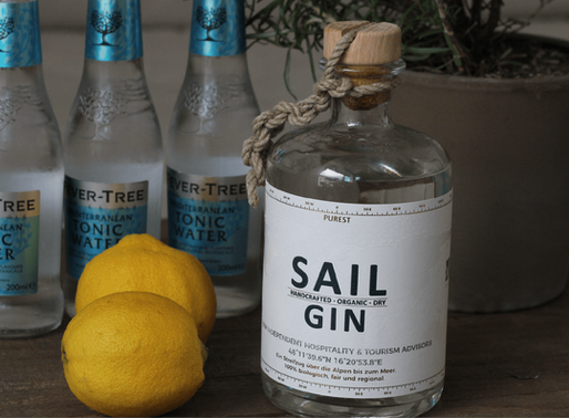 SAIL GIN - a collaboration with Purest
