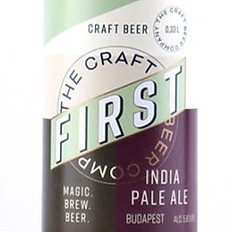 IPA – India Pale Ale - First Craft Beer