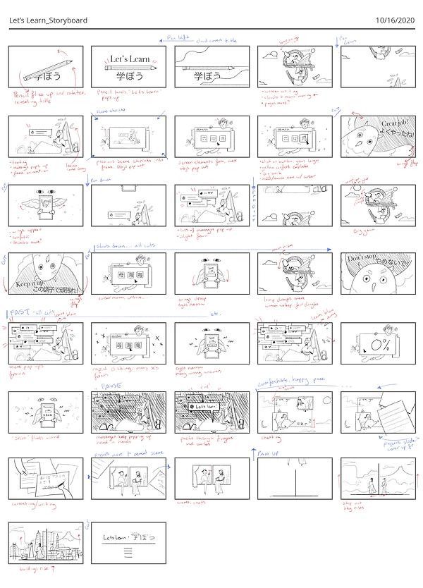 Let's Learn_Storyboard