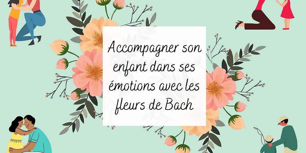 Accompagner son enfant dans ses émotions avec les fleurs de Bach