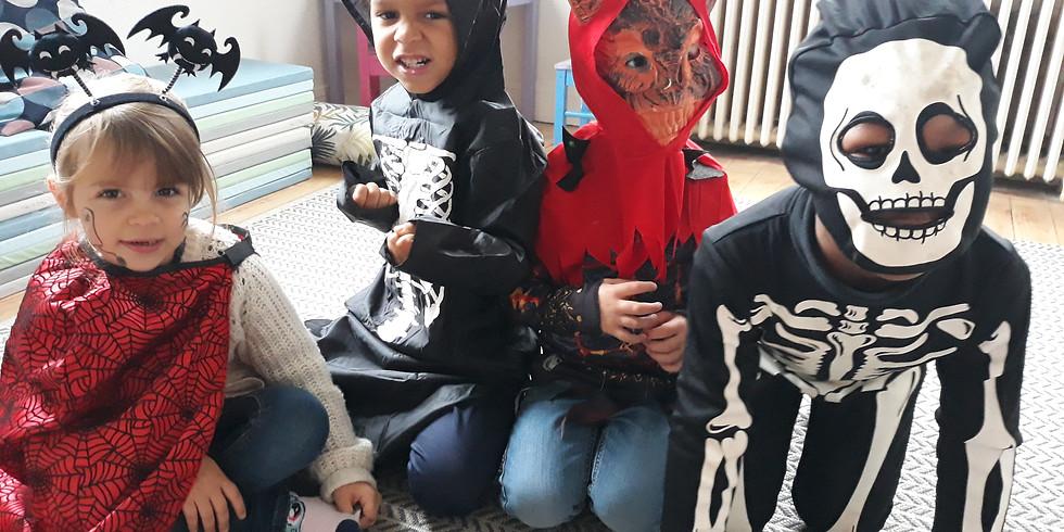 Atelier Halloween - 3 à 6 ans