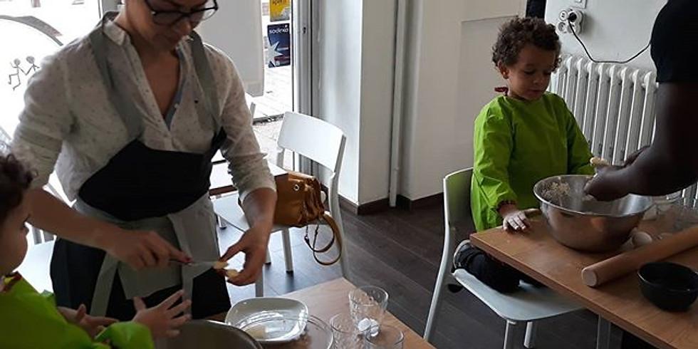 Atelier pâtisserie parent-enfant: La tarte tatin du chef Gilou