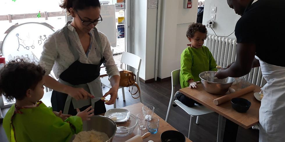 Atelier pâtisserie parent-enfant: les muffins du chef Gilou