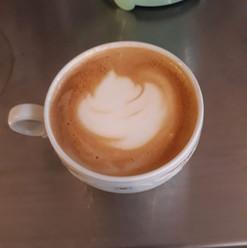 Latte art Lotus de Gilou
