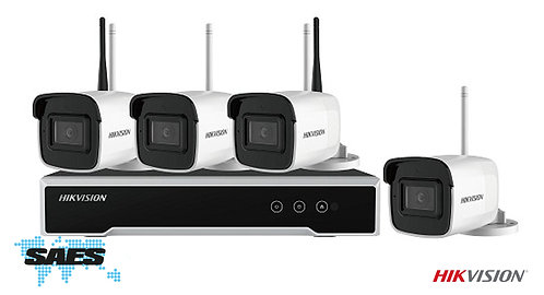 4-Channel Ultra-High Definition WiFi CCTV Kit