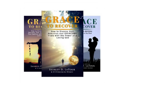 Grace To Recover Series: Get all 3 books, save $5!
