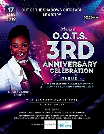 O.O.T.S. 3rd Anniversary Celebration fly