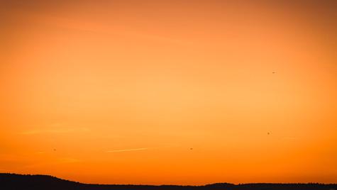 Sonnenuntergang in Swinemünde