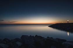Sonnenaufgang in Barhöft