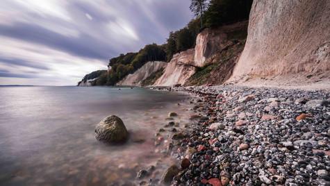Steilküste auf der Insel Rügen