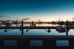 Barhöft Hafen