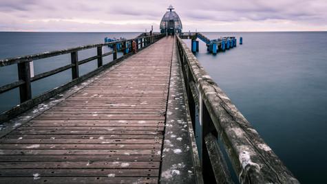 Seebrücke Sellin auf der Insel Rügen