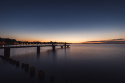 Sonnenuntergang in Stralsund
