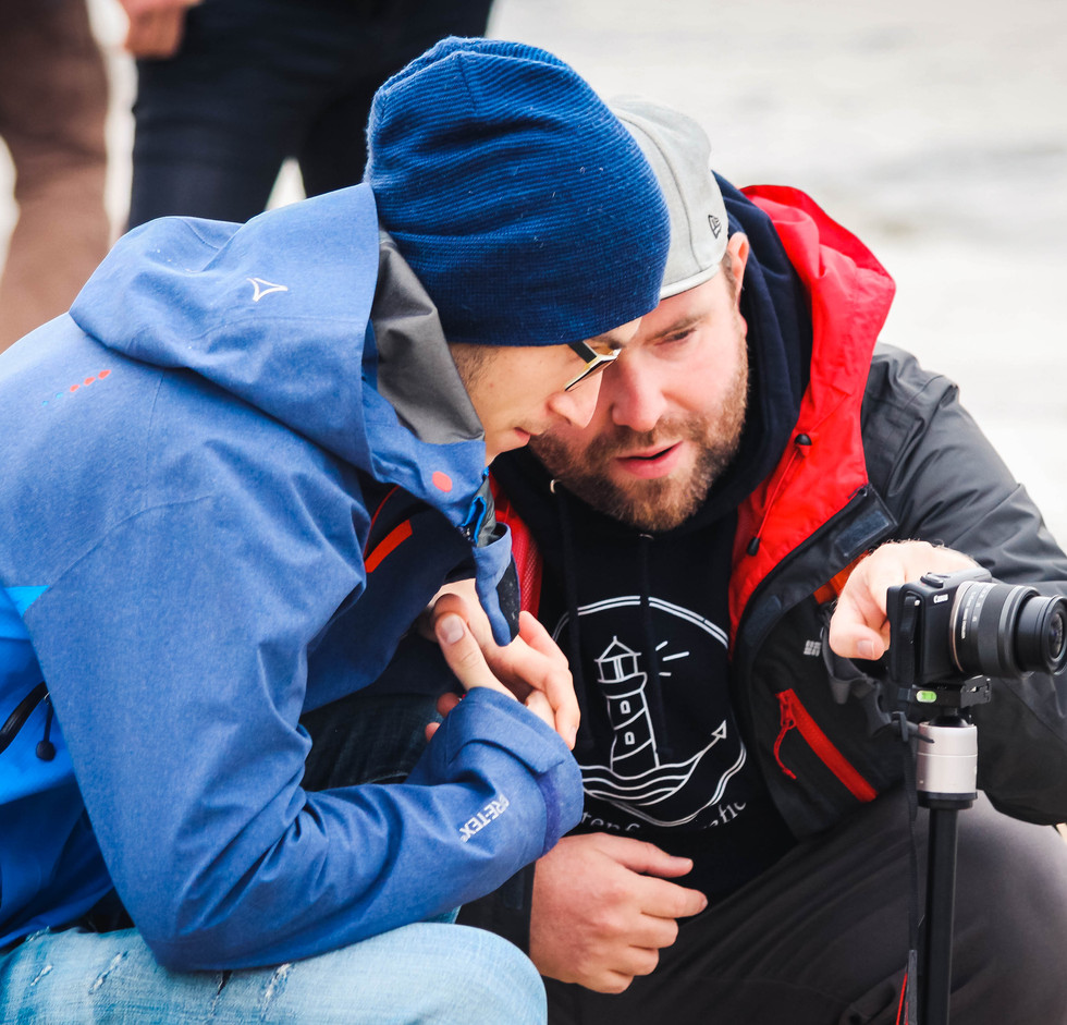 fotografieren lerne Workshop auf der Insel Rügen