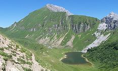 Lac de Lessy - vol panoramique