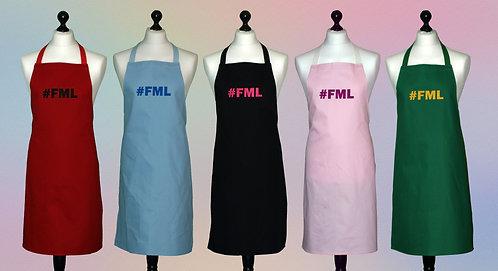 #FML 100% cotton aprons