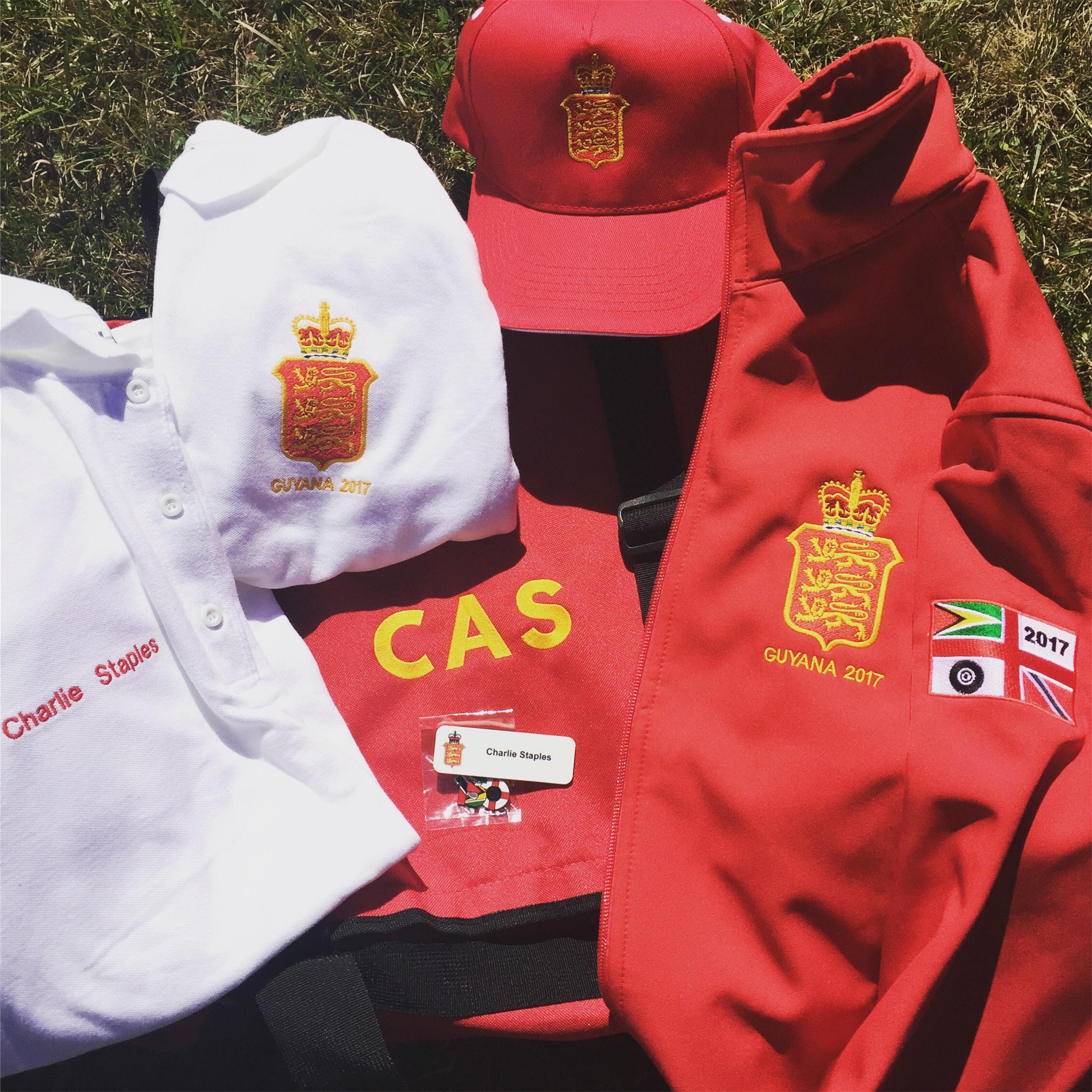 Guyana team kit