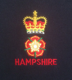 Hampshire County badge