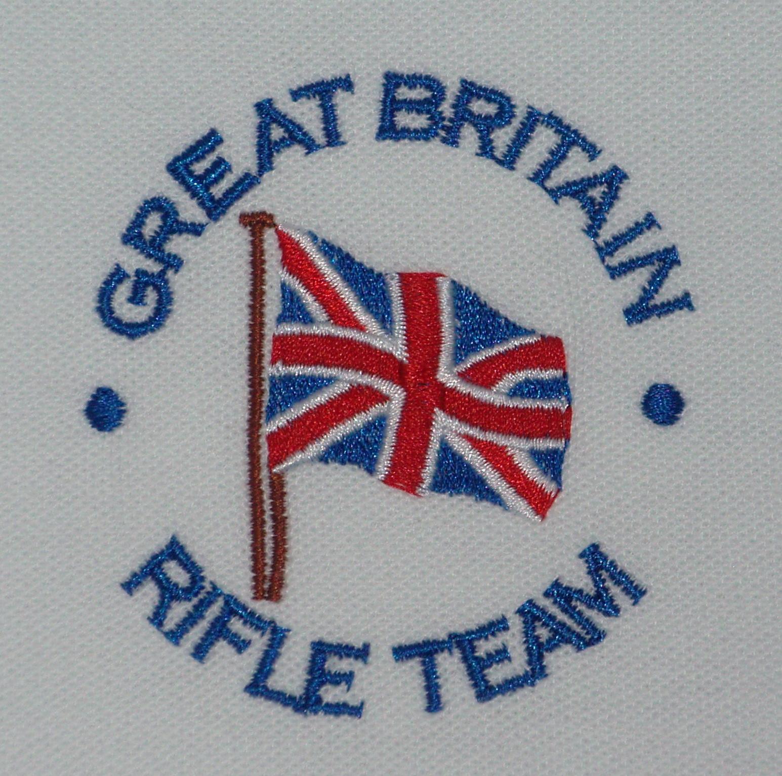 Great Britain Rifle Team poloshirts