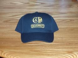 Cap for C&PRR heritage railway