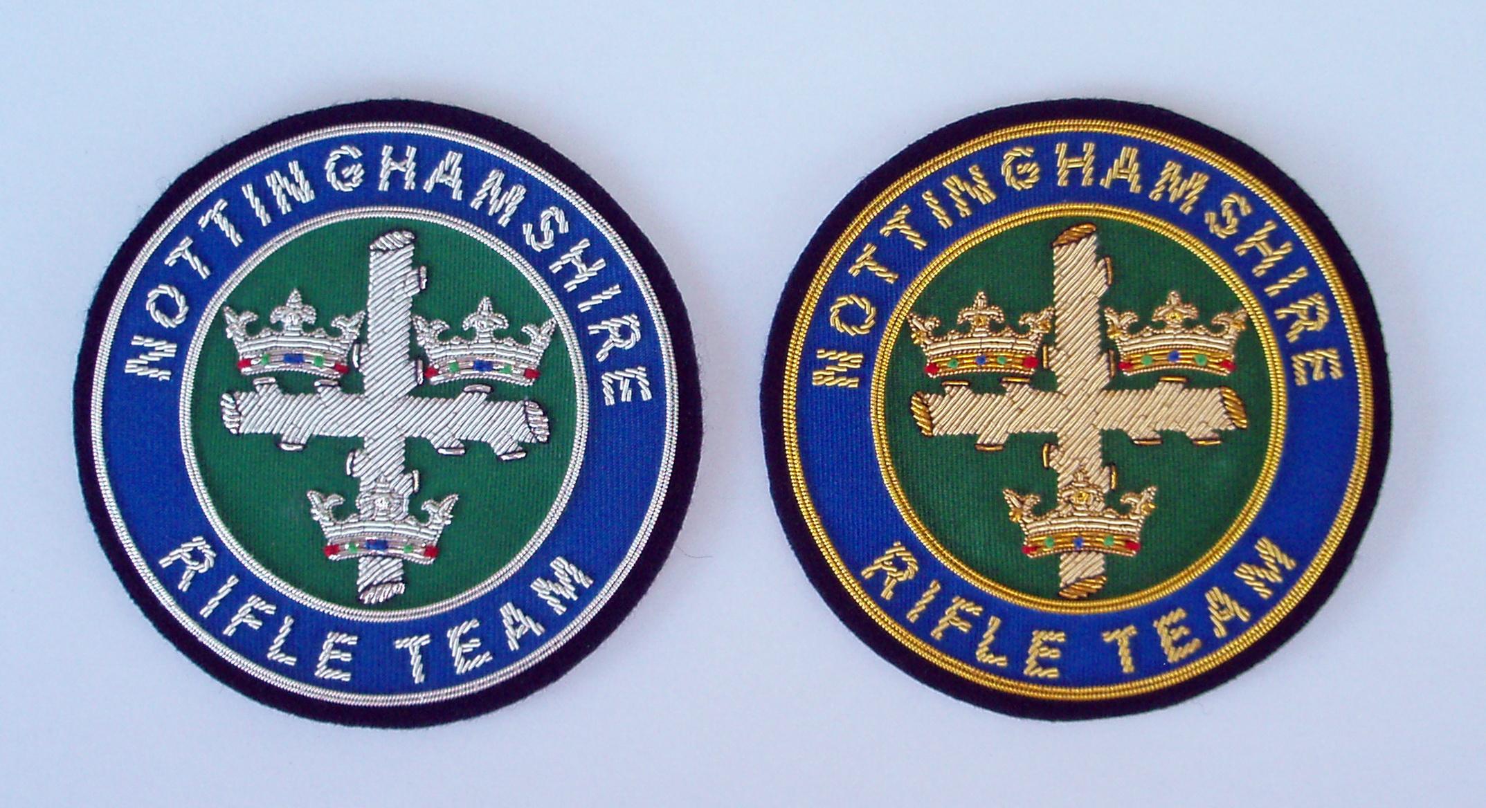 Nottinghamshire blazer badges