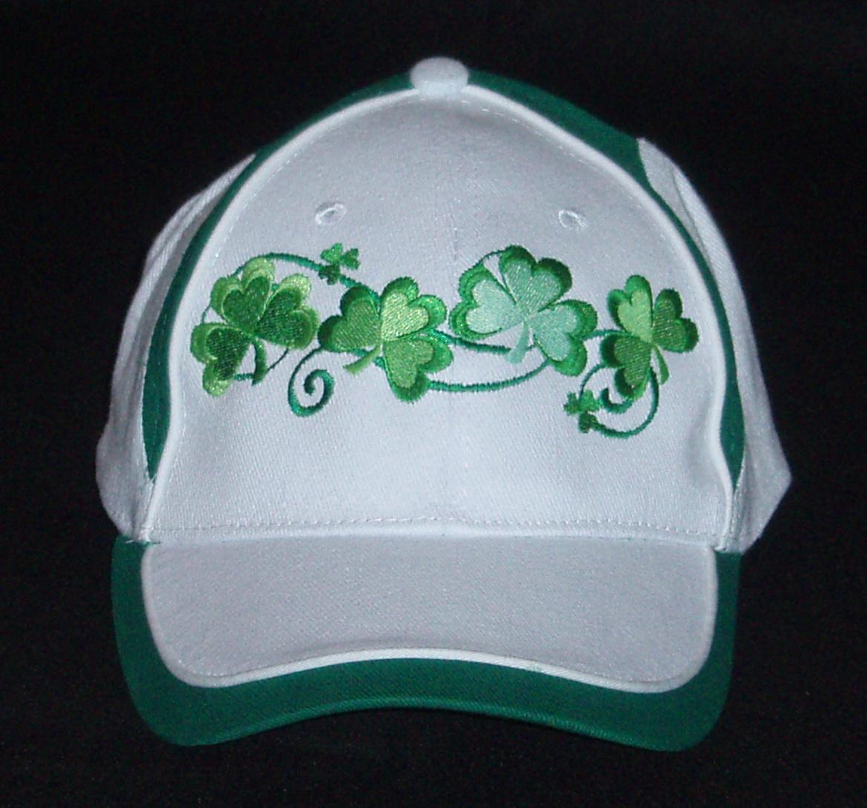 Ireland Shamrock Baseball Caps.