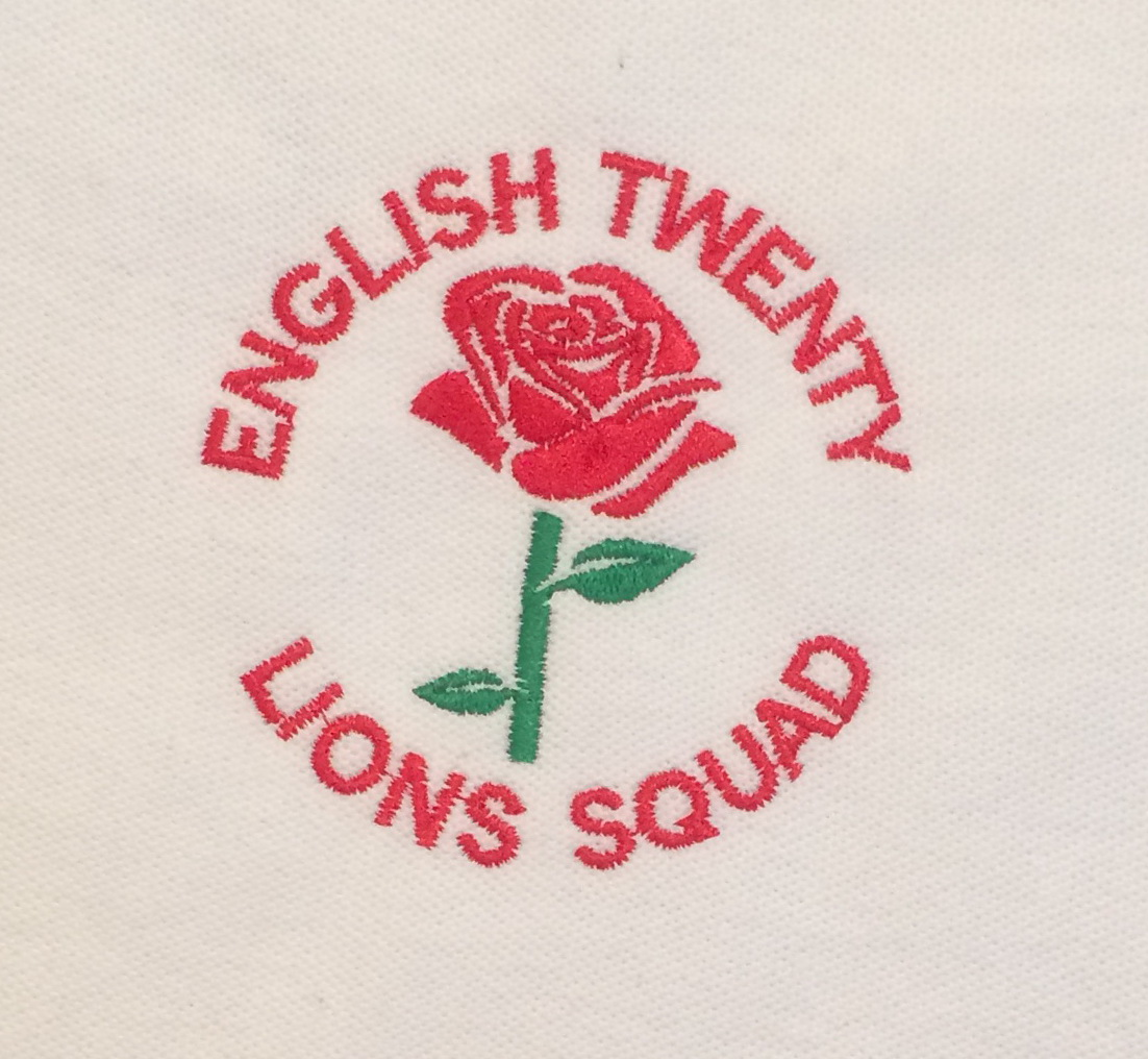 English Twenty Lions Squad