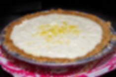 Lemon Sour Cream Pie Rustic Pie Co. Prescott