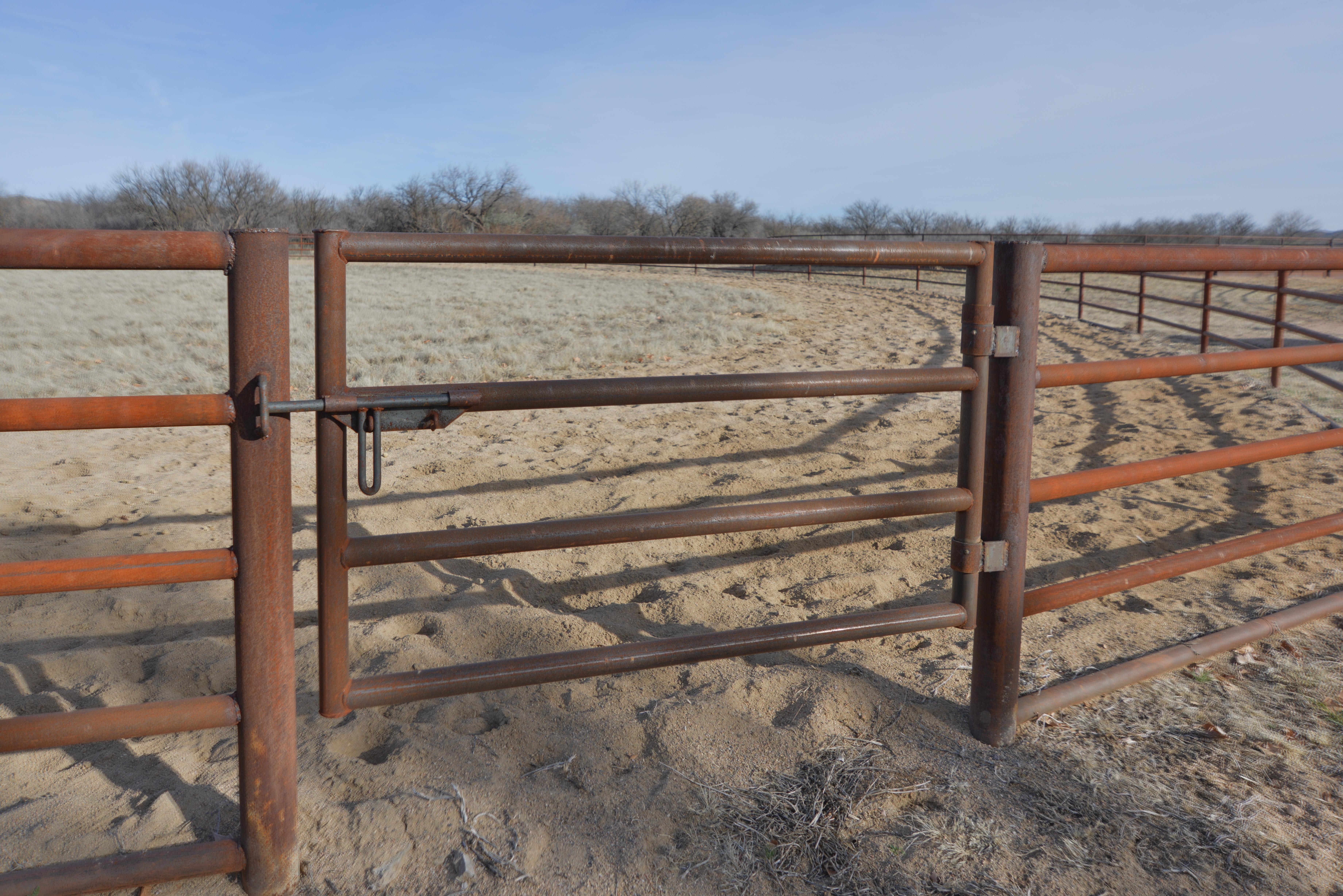 Gate & Round Pen