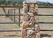 Pipe Fencing & Stone Work