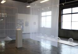 Hot work : 吹きガラス AKIKO TAKAGI : 高木明子 92×456×40cm