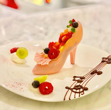 White chocolate heel