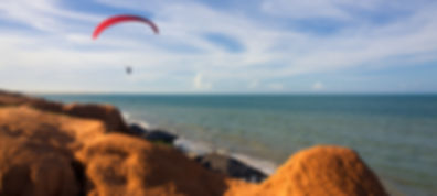 Paragliding, Canoa Quebrada, Ceará