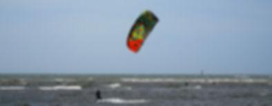 Kitesurfen, Ceará, Costa, mar, ondas